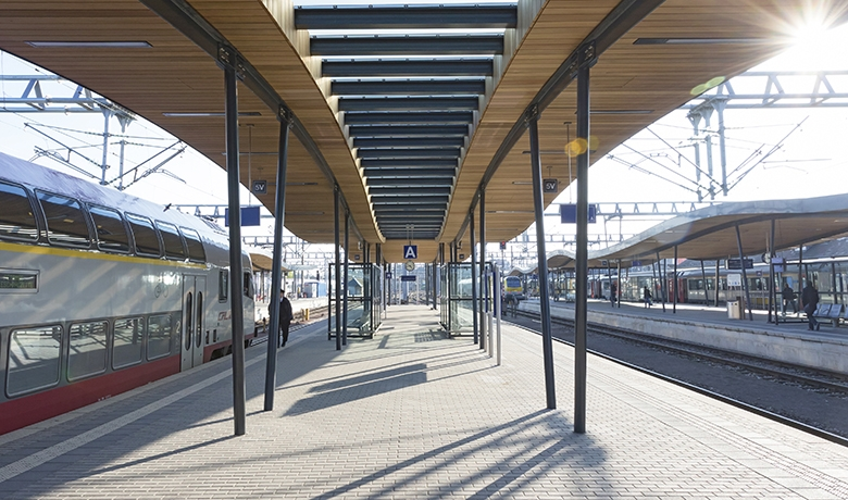 Gare de Luxembourg - marquises