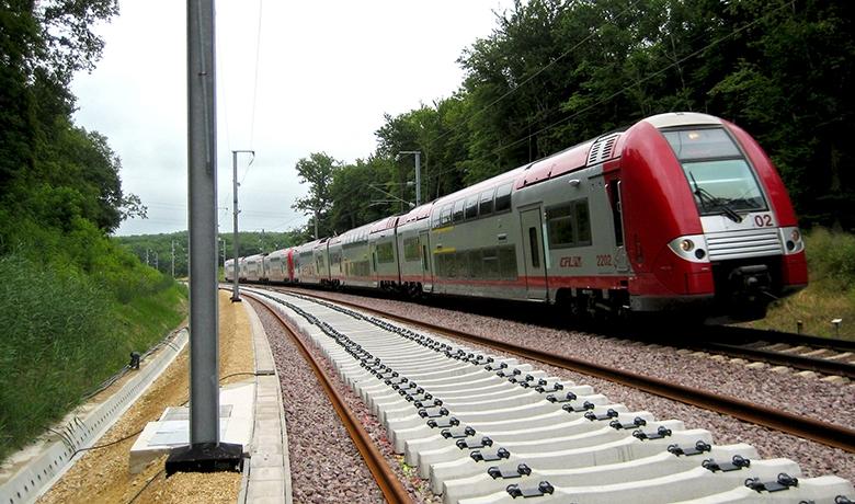 Mise à double voie ligne Pétange Luxembourg