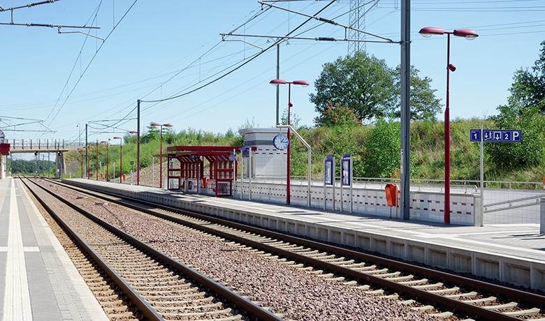 Mise à double voie ligne Petange Luxembourg