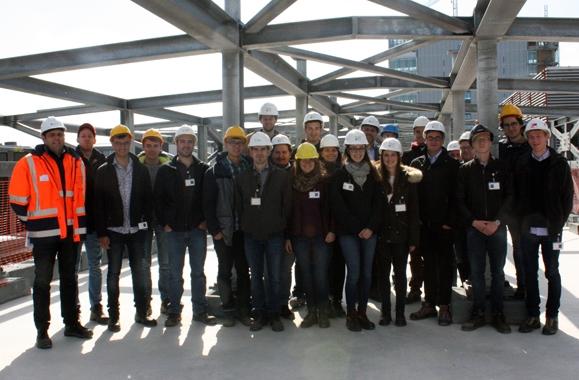 Visite de l'ANEIL sur le chantier du KAD
