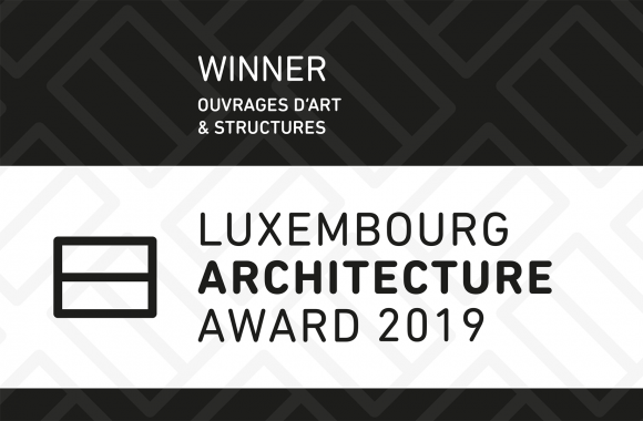 WINNER - LUXEMBOURG ARCHITECTURE AWARD 2019