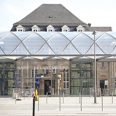 Gare de Luxembourg – Hall des voyageurs