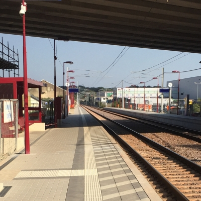 Eisenbahnlinie Luxembourg-Wasserbillig - Neue Haltestelle