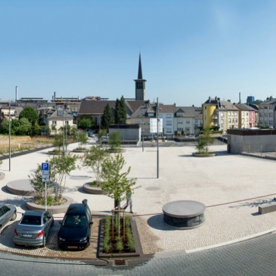 Place des Alliés et parking souterrain