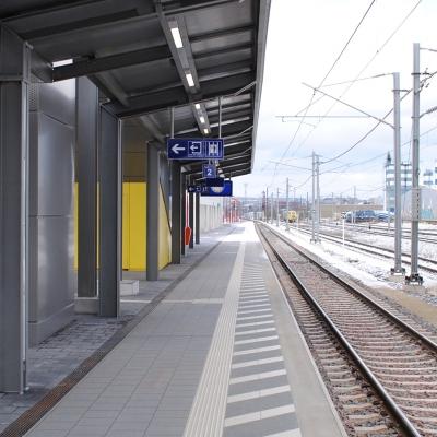 Gare périphérique de Howald - Phase 1