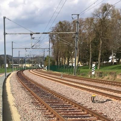 Gesamterneuerung der Bahnstrecke