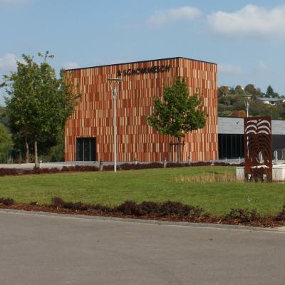 """Extension Mairie Niederanven - salle polyvalente """"Schommeschwois"""""""