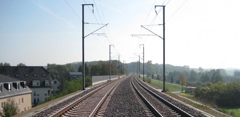Mise à double voie Pétange - Luxembourg