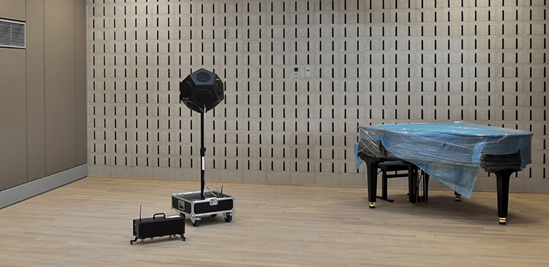 Extension du Conservatoire de la Ville de Luxembourg - Mesures acoustiques