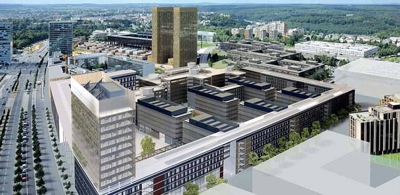 KAD - Extension et remise à niveau du bâtiment Konrad Adenauer pour le Parlement Européen