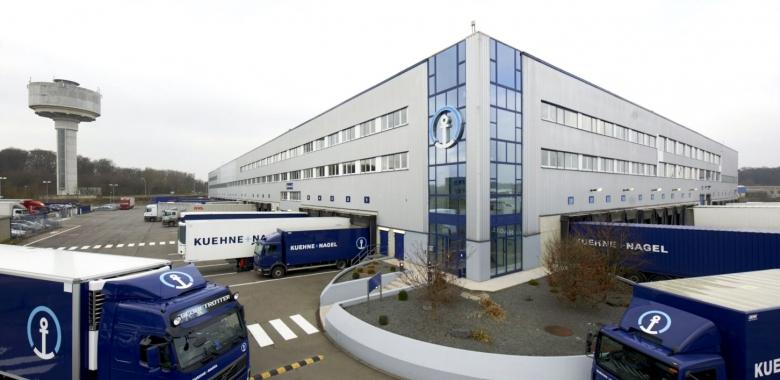 Centre logistique Kühne & Nagel