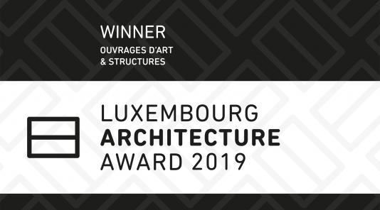 WINNER - LUXEMBOURG ARCHITECTURE AWARD 2019