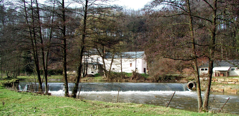 Hochwasserschutz Attert Boevange