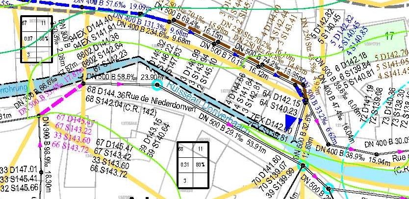Kanalnetzstudie Gemeinde Wormeldange