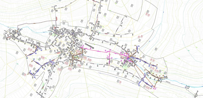 Kanalnetzstudie Gemeinde Stadtbredimus